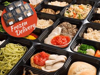 マッスル弁当の販売、冷凍配達